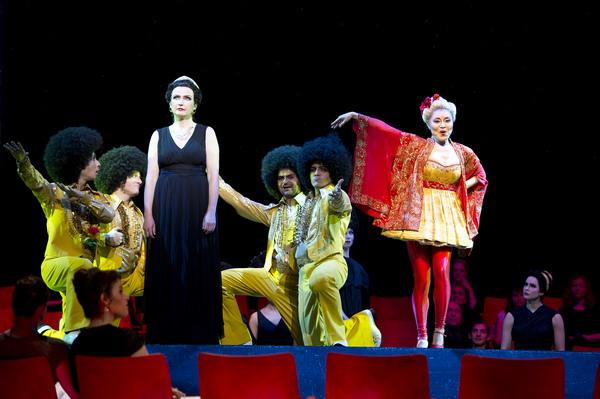 Primadonna trifft Showgirl