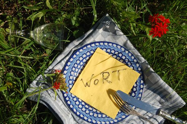 Wortpicknick, Planten un Blomen