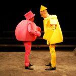 Gelb und Rosa