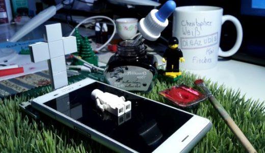 Botschaften aus dem Datenjenseits: Bei den Azubis wird das Smartphone zum Sarg