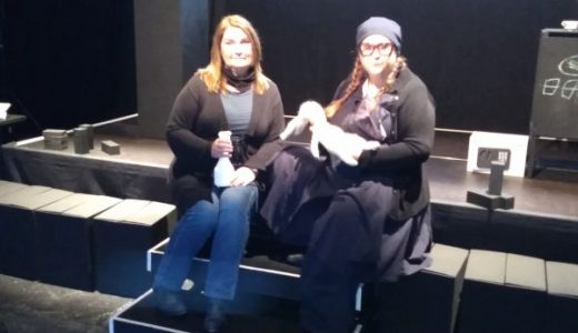 Theatergründerinnen: Sylivia Deinert (links) und Tine Krieg